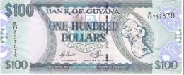 Guyana - Pick 36b - 100 Dollars 2006 - Unc - Guyana