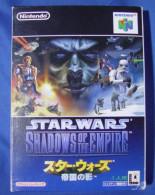 N64 Japanese : StarWars Shadows Of The Empire NUS-P-NSWJ(JPN) - Nintendo 64