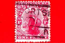 NUOVA ZELANDA - Usato - 1902-1907 - Ordinario - Universal Penny Postage - 1 - 1855-1907 Crown Colony