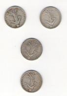 10 Pièces De 1 Franc En Argent Semeuse De Roty (entre 1898 Et 1918) - H. 1 Franco