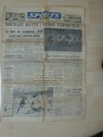 Sports Lundi 27 Avril 1947 Football Roubaix Merlebach Calinsky Cyclisme 38 è Poly Multiplié Camellini Liege Bastogne - 1900 - 1949