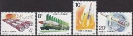 CHINA 1989 - Rockets - Space MNH, Mi # 2269-72 - 1949 - ... Repubblica Popolare