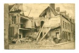 Veurne -  Furnes  -  La Grande Guerre 1914 - Rue Balance Au Beurre - Veurne