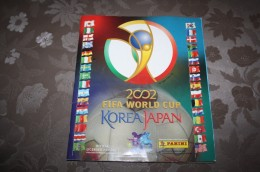 Rare Album Panini 2002 Fifa World Cop Complet Et Propre - Panini