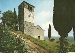 COL SAN MARTINO  FARRA DI SOLIGO  TREVISO  Oratorio Di San Vigilio  Chiesa E Torre Campanaria Con Orologio - Treviso