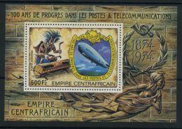 REPUBLIQUE CENTRAFRICAINE ( BLOC ) : Y&T N°  23   BLOC  NEUF  SANS  TRACE  DE  CHARNIERE , A  VOIR .
