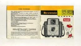 - FASCICULE APPAREIL PHOTO BROWNIE . KODAK . . - Zubehör & Material