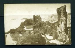 ENGLAND  -  Hastings  The Castle  Unused Vintage Postcard - Hastings