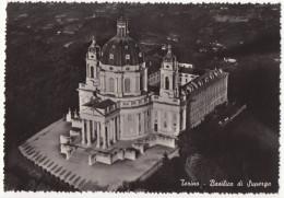 TO45 !!! TORINO BASILICA DI SUPERGA DI NOTTE F.G. !!! - Churches