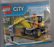 Lego 30312 Ville Perceuse De Démolition Neuf ** Dans L'emballage - Lego System