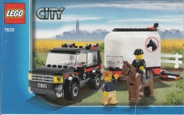 Lego 7635 Ville Le Transport De Chevaux Avec Plan 100 % Complet - Lego System