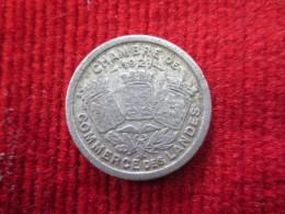 Monnaie De Nécessité  Chambre De Commerce  Des Landes   5 Centimes 1921 - Monétaires / De Nécessité