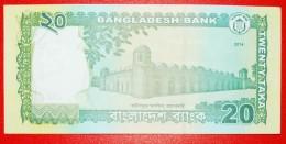 § MOSQUE: BANGLADESH ★ 20 TAKA 2014! UNC CRISP! LOW START★ NO RESERVE! - Bangladesh