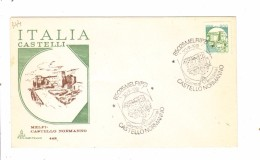 F344 - ITALIA  1981  , FDC Annullo Melfi : CASTELLI MACCHINETTE  Lire 300 - 6. 1946-.. Repubblica