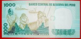§ BOATS: PERU ★ 1000 SOLES DE ORO 1981! UNC CRISP! LOW START★ NO RESERVE! - Peru