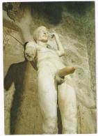 C3325 Pompei (Napoli) - Casa Dei Vetti Vettii - Statua Priapea - Priapo / Non Viaggiata - Sculture