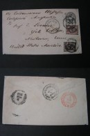 == Russland  Cv. St, Petersburg To Boston US  , 1882 - Stamped Stationery