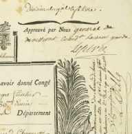 Francois Joseph LEFEBVRE (1755-1820) Marechal D'Empire Villers-Saint-Simeon 1794 Belgique Pille Mercier - Documents Historiques