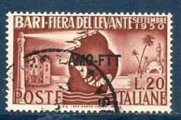 1950 BARI  Trieste A  Serie Completa Usata - Usati