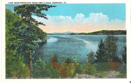 Lake Memphremagog From Owl's Head, Newport, Vermont - United States