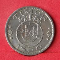 TIMOR 1 ESCUDOS 1958 -    KM# 13 - (Nº14889) - Timor