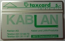 SWITZERLAND - L&G - Private - 1991 - Kablan - K-91/53 - 106D - 1200ex - Mint