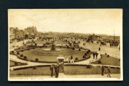ENGLAND  -  Weston Super Mare  Beach Lawns  Used Vintage Postcard As Scans - Weston-Super-Mare