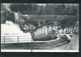 CPA - ENGIS - Le Pont Détruit - Engis