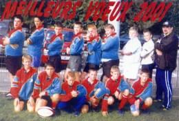 RUGBY ,Olympique COULOMMIERS Equipe Minimes Saison 2000,2001 Avec Noms Des Joueurs 2 Scans - Coulommiers