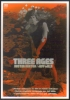 """Carte Postale édition """"Carte à Pub"""" - Three Ages - Buster Keaton / Jeff Mills (cinéma - Film - Affiche) - Publicité"""
