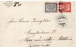 Indes Néerlandaisse Lettre Pour L'Allemagne 1912 - Netherlands Indies