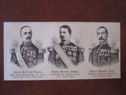 Papst Pope Brigade General Graf Von Courten Hermann Kanzler Marchese Bappi Zeitung Newspaper Clipping Journal - Politieke En Militaire Mannen