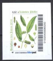 Biber Post Heilpflanze Des Jahres 2016, Kubeben - Pfeffer (0,52)   G257 - [7] Repubblica Federale