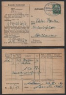 ALSACE - III REICH / 1940 AMBULANT MULHOUSE - STRASBOURG SUR CARTE / 2 IMAGES (ref 1235) - Alsace-Lorraine