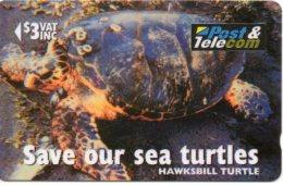 Tortue Tortoise Turtle Télécarte Phonecard  Telefonkarten R697 - Fidji