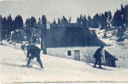Environs D' URIAGE LES BAINS - Skieurs Au Chalet Du Recoin (Massif De Chamrousse)  (87382) - Unclassified