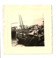 HONG KONG 1958 - Le Port - Les Jonques - VENTE DIRECTE X - Cina (Hong Kong)