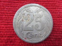 France 25 Centimes 1921 Evreux - Monétaires / De Nécessité