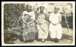 REAL PHOTO POSTCARD WOMEN GROUP EAST TIMOR  ASIA CARTE POSTALE - East Timor