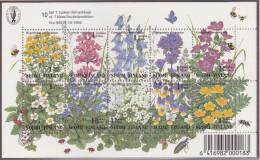 VE_ Finnland - Mi.Nr. Block 13 - Postfrisch MNH - Pflanzen Plants Blumen Flowers - Otros
