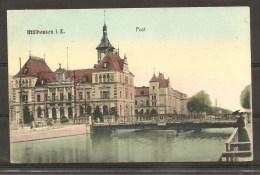 Mulhouse : Post - Oblit. Gare - 1908 - Off. Par Hotel A. Ehret - (t915) - Mulhouse