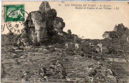 LE ROZIER - Rocher De Capluc Et Son Village   (87394) - France