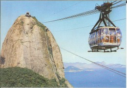 CPM Brésil - Rio De Janeiro - Aerial Car To The Sugar Loaf - Rio De Janeiro