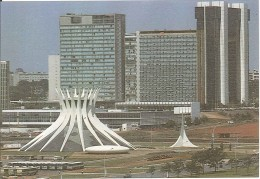CPM Brésil - Brasilia - Catedral De Brasilia - Brasilia