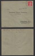 ALSACE - MOSELLE - III REICH / 1943 AMBULANT STRASBOURG - SAALES SUR LETTRE / 2 IMAGES (ref 1517c) - Alsace-Lorraine