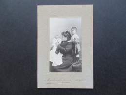 Altes Foto Ca. 1900?! Martin Otto Freres. Grenoble. Mutter Mit 2 Kindern. Baby. Kleiner Junge! Guter Zustand!! - Fotos