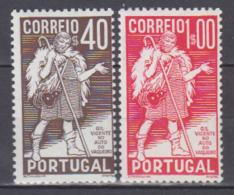 PORTUGAL    1937         N.   586 / 587   COTE    26 . 00  EUROS          ( M 200 ) - ...-1853 Préphilatélie