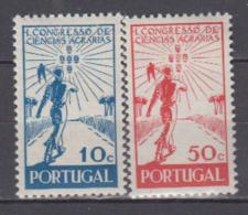 PORTUGAL    1943         N.   645 / 646   COTE    2 . 50  EUROS          ( M 201 ) - ...-1853 Préphilatélie