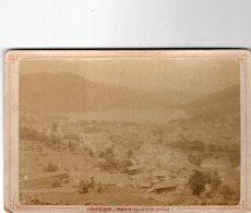 V3558 Photographie Ancienne Gérardmer Panorama Du Lac Et De La Ville - Gerardmer