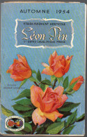 Catalogue HORTICULTURE Leon Pin 1954 (F.6009) - Agricultura